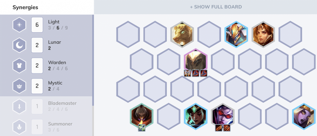 TFT Tier List 10.2 Standard Lights